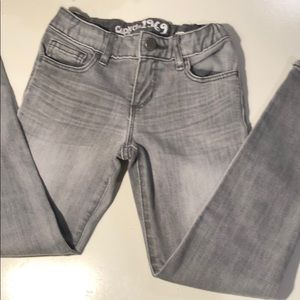 Soft stretch modern and comfortable gray jeans